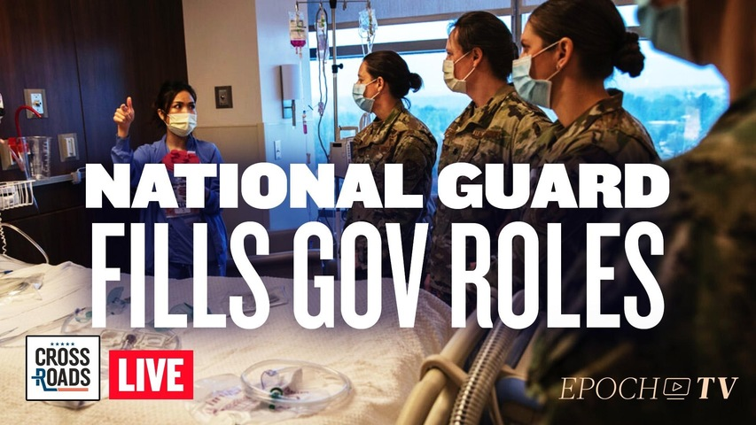 Live Q&A: National Guard Begins Filling Gov Roles; Break In Democrat Party Over Spending