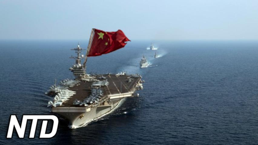 Ny kinesisk sjöfartslagstiftning träder i kraft | NTD NYHETER