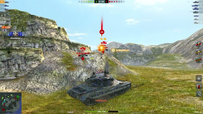 60TP 7910DMG 5Kills   World of Tanks Blitz   n52
