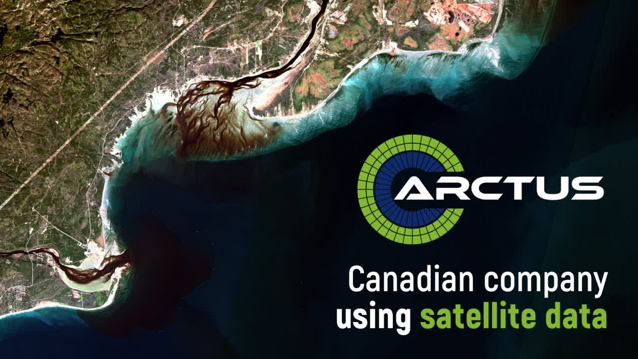 Arctus: a Canadian company that uses satellite data