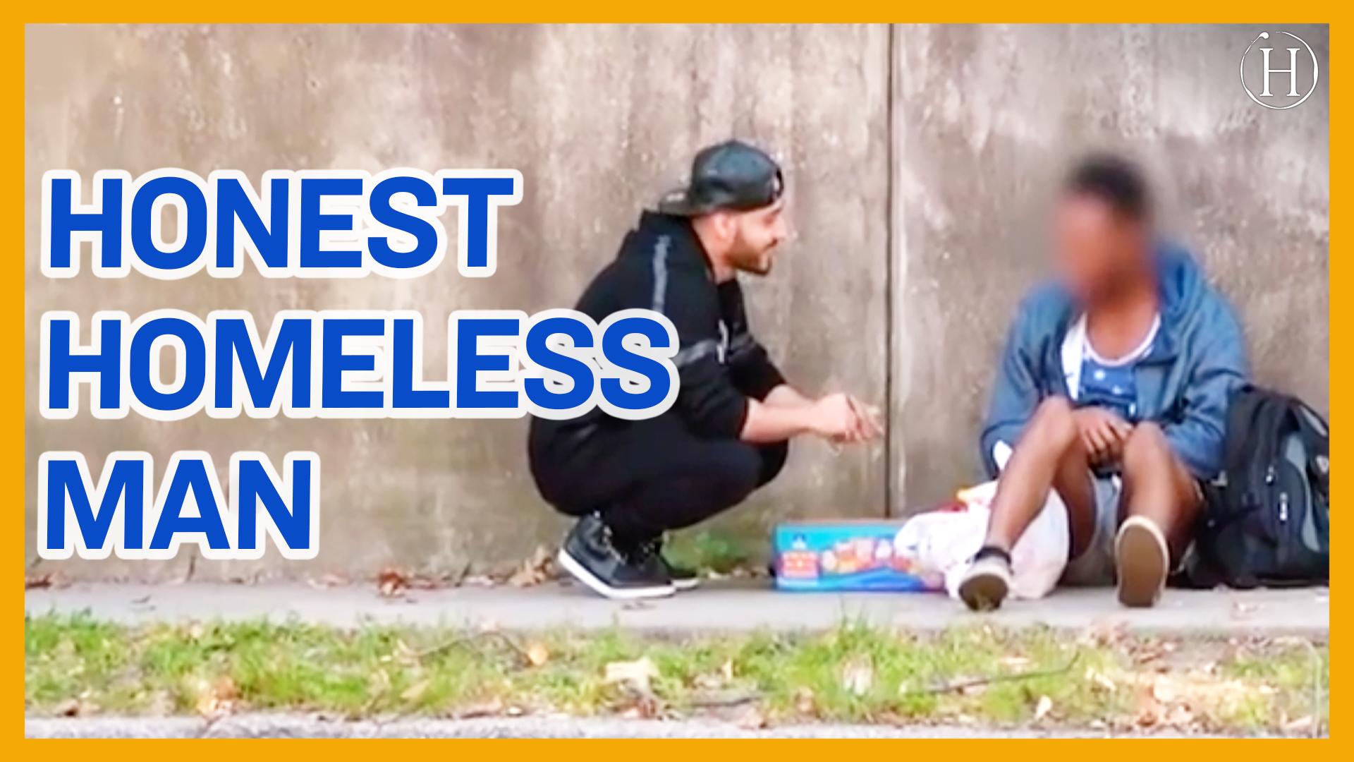 Homeless Salesman   Humanity Life