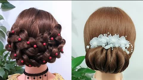 Braided hair style nape force for women shoulder length hair