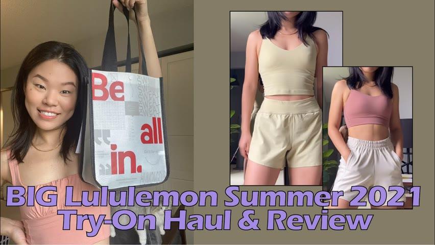 HUGE Lululemon Summer 2021 Haul | Lululemon July 2021