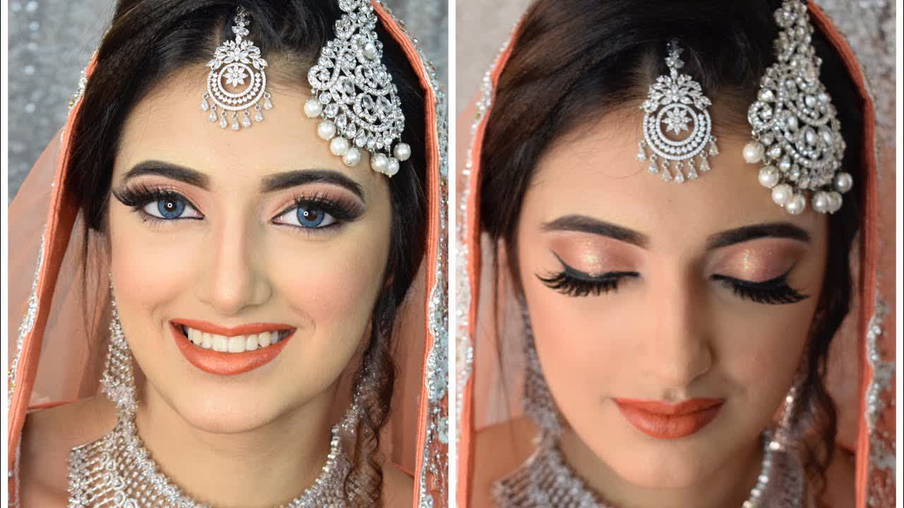 Modern Bridal Walima look   Instaglam Makeovers by Mubeen