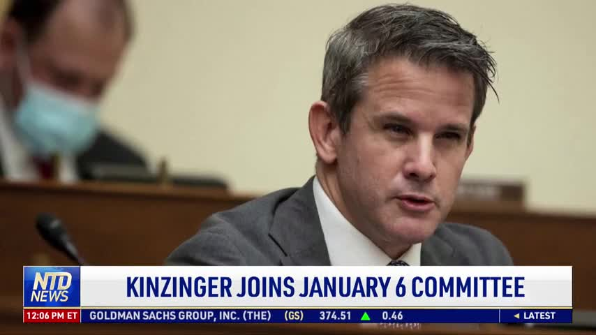 Kinzinger Joins Jan. 6 Committee