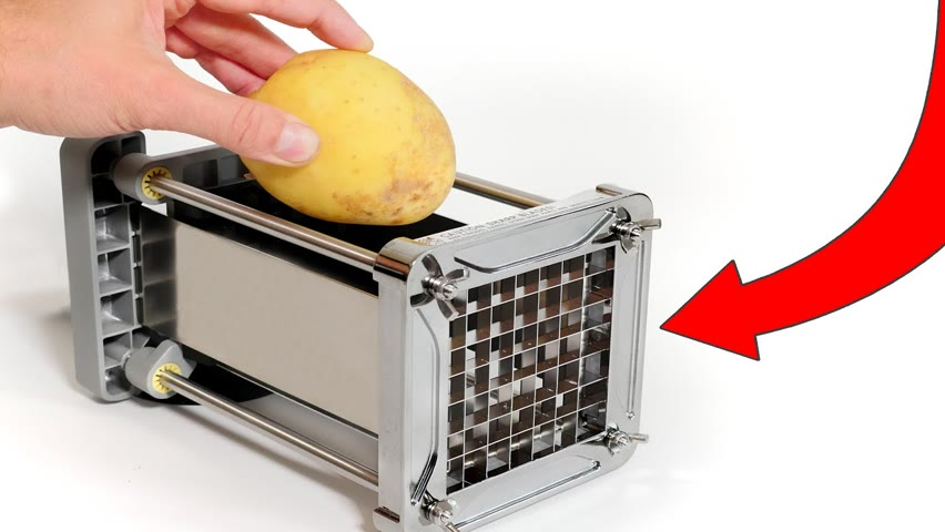 More Kitchen Gadgets - French Fry Cutter