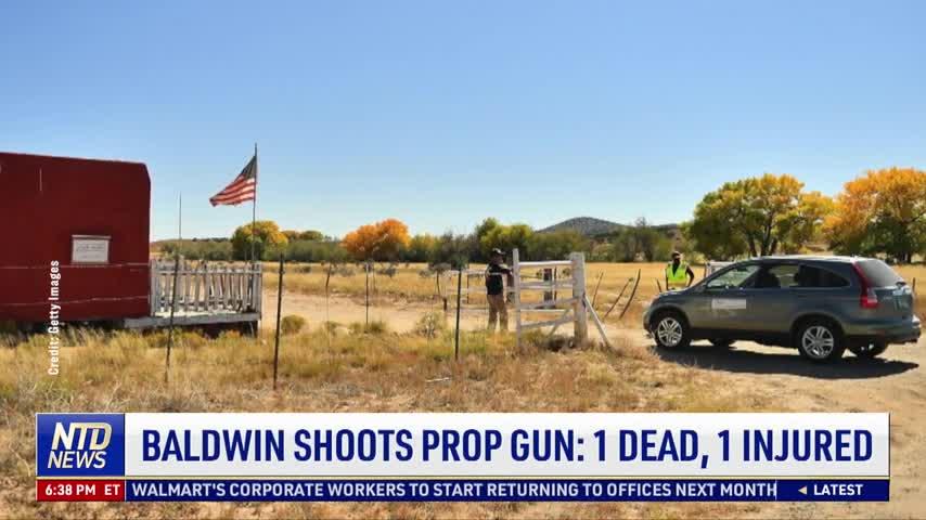 Baldwin Shoots Prop Gun: 1 Dead, 1 Injured