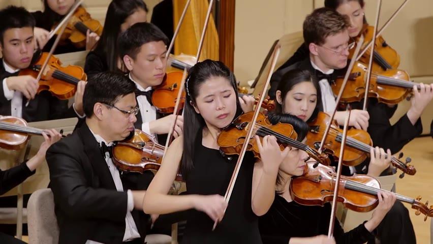 가족의 비극을 극복한 바이올리니스트 피오나 정