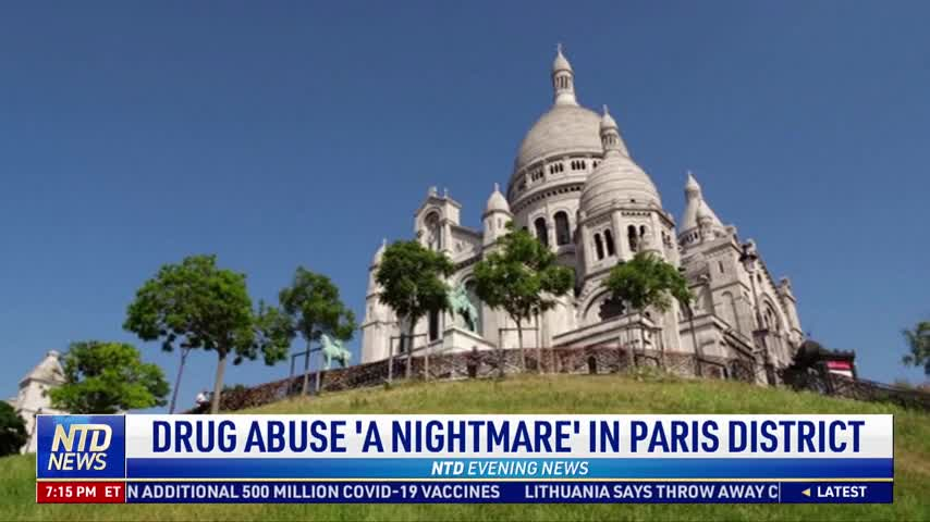 Residents Say Drug Abuse 'A Nightmare' in Paris District