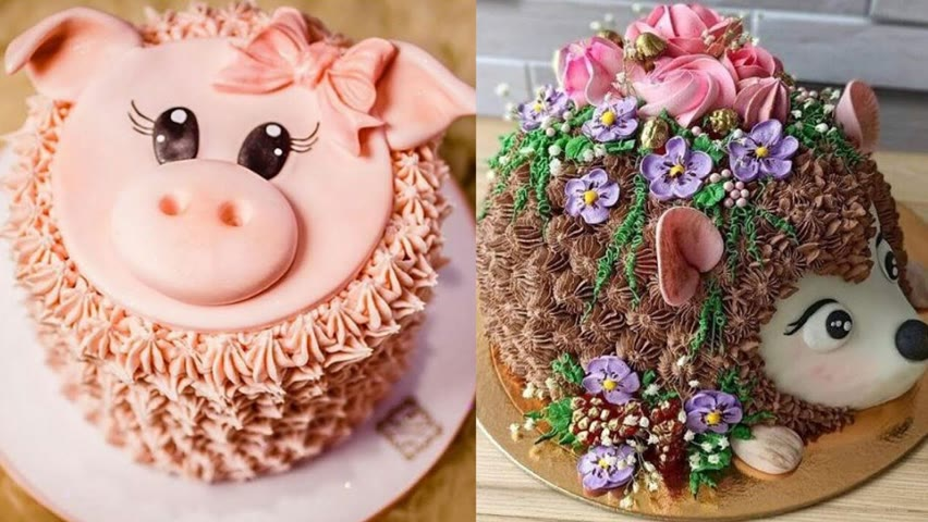 Top 10 Fancy Cake Decorating Compilation | So Yummy Cake | Most Satisfying Cake Videos