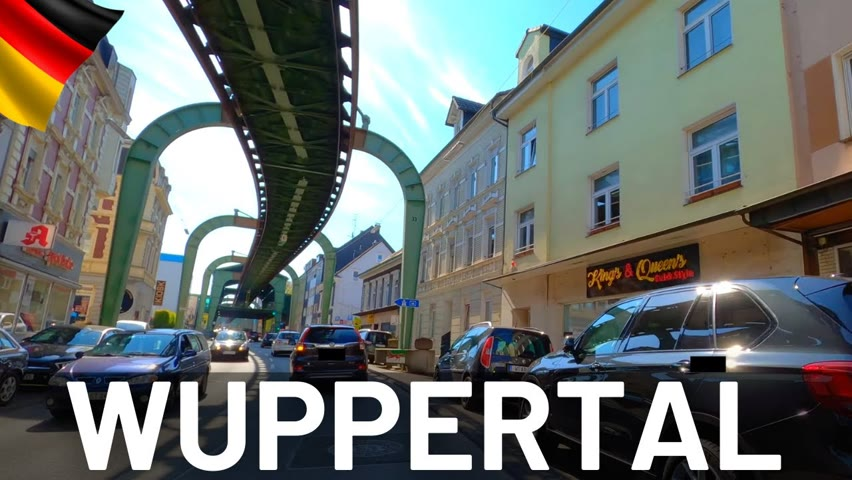 WUPPERTAL Driving Tour 2021 🇩🇪 Germany || 4K Video Tour of Wuppertal