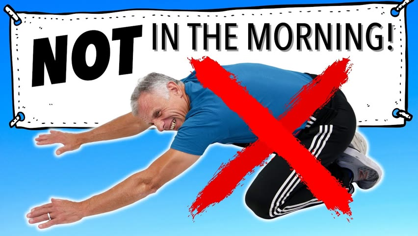 Do Not Stretch Your Back In The Morning! Do This Instead