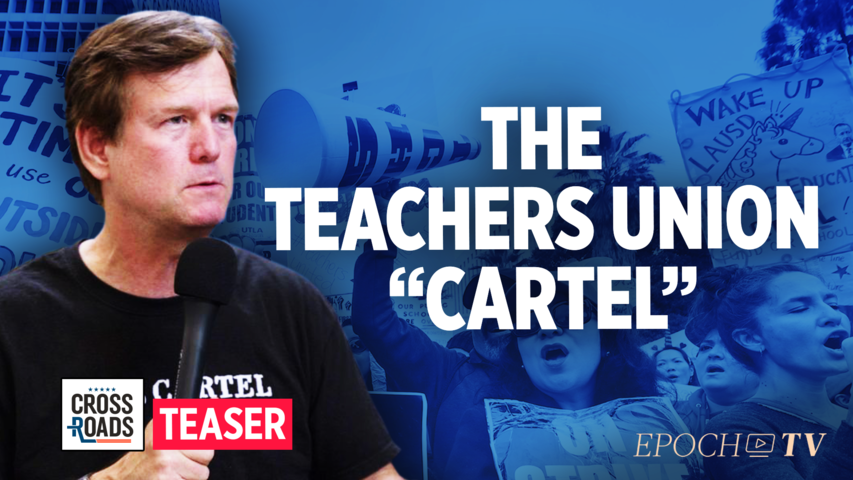 Teachers Unions Function Like Cartels With Institutional Corruption: Bob Bowden trailer