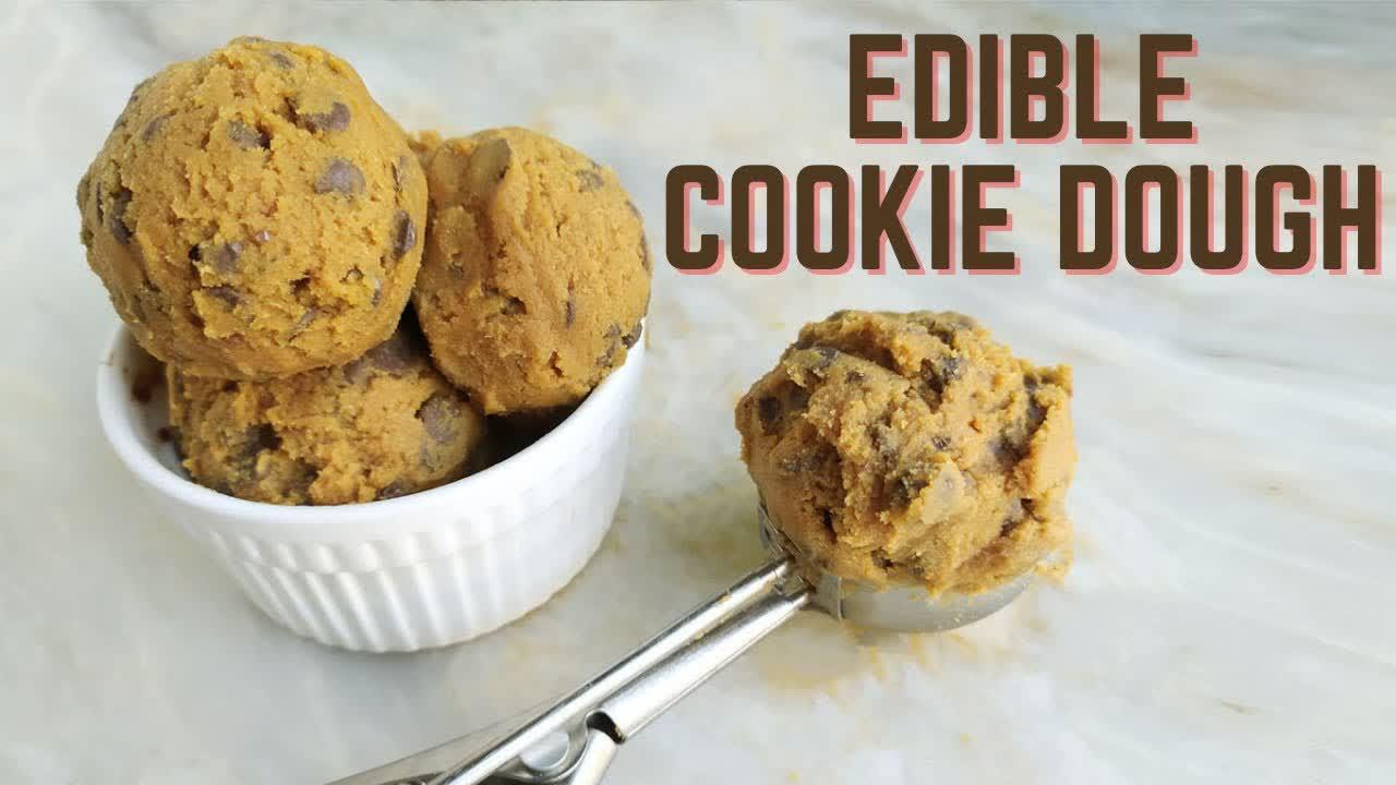 Edible Cookie Dough Recipe   Mamagician