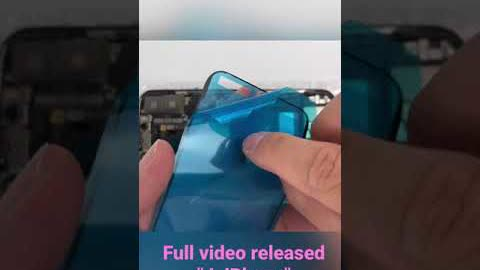 #Shorts   Restoration Destroyed iPhone x & Turn it into an iPhone 12 Pro