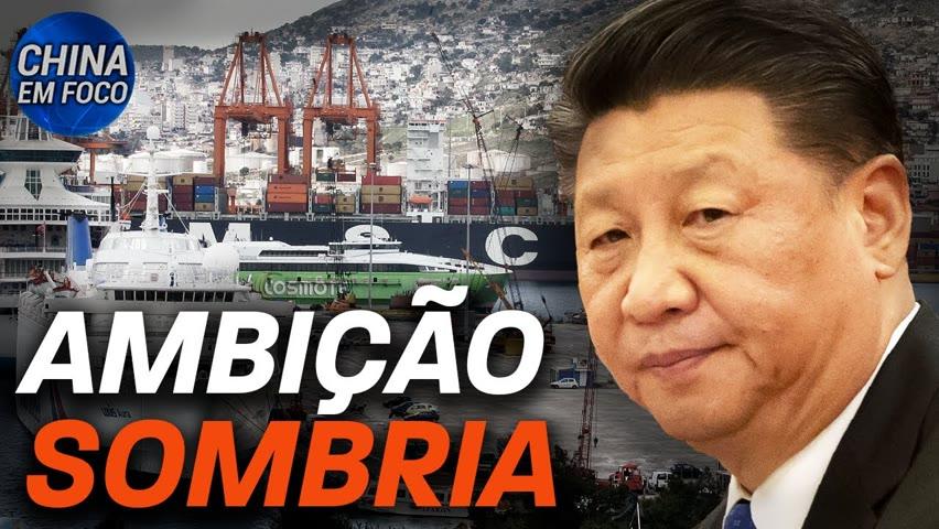 China quer transformar portos em armas; General americano justifica telefonema para China