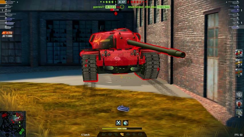 E100 7968DMG 3Kills | World of Tanks Blitz | Lay_low07