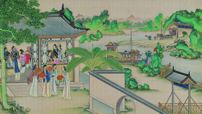中國傳統色彩承載了哪些文化 | 秋香色 海棠色 雨過天青色 | 五行 五色 | 紅樓夢 | 傳統文化 | 馨香雅句第67期