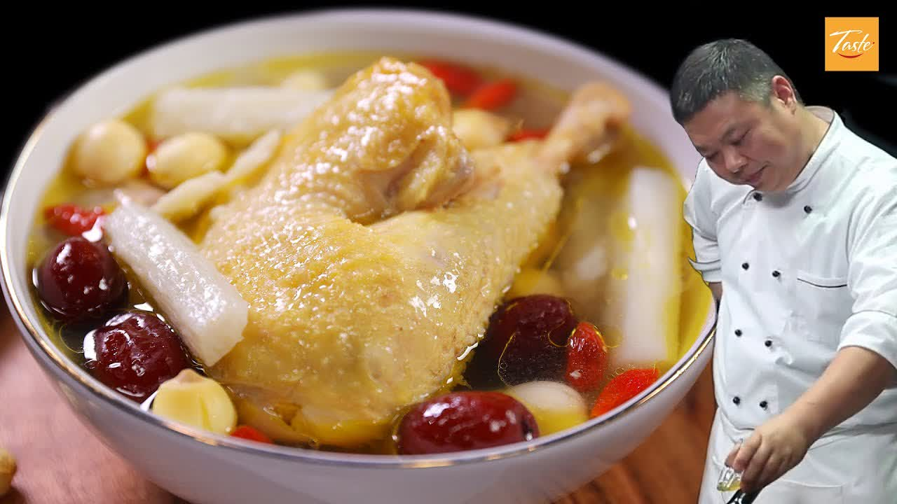Easy Chicken Soup by Masterchef | Cooking Soup • Taste Show