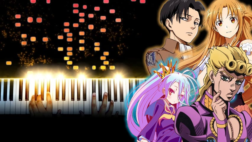 Playing the Most Iconic Anime Songs on Piano (1 Million Subscribers Special)