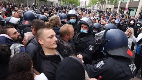 Live aus Berlin: Demo am Pfingstsonntag 23.05.2021  #pfingsteninberlin