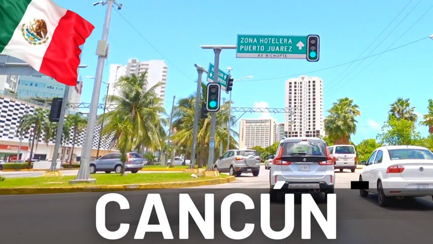 Cancún City, Mexico Driving Tour 2021 🇲🇽 4K Drive in Cancun
